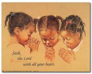 Prayer 3 girls