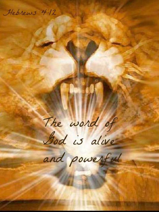 Word of God powerful