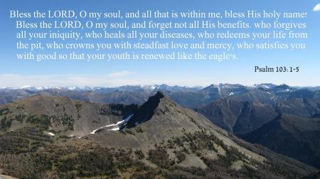 Psalm 103.1-5