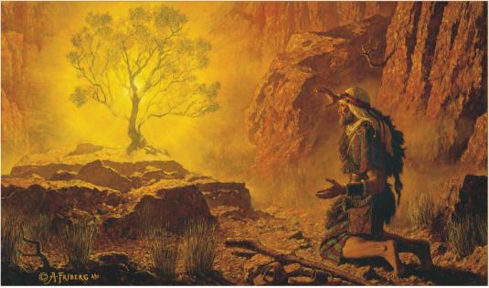 Moses experiences God
