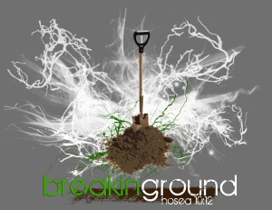 Breaking-ground