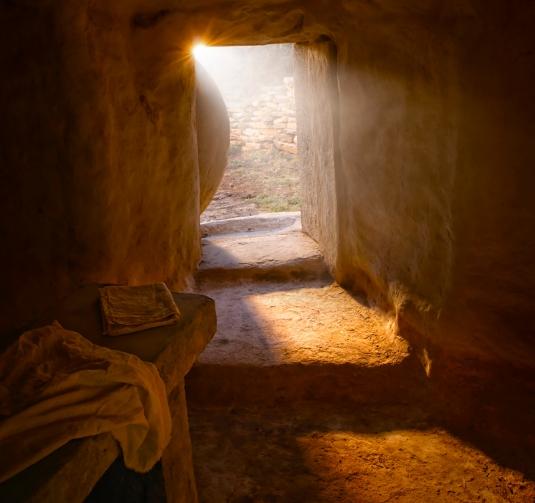 The Empty Tomb. | Cracked-Pot
